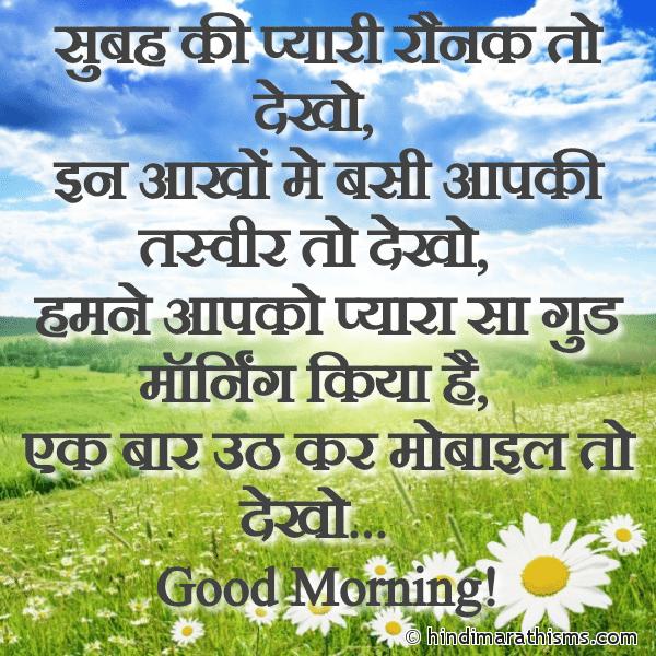 Subah Ki Pyari Ronak To Dekho Image