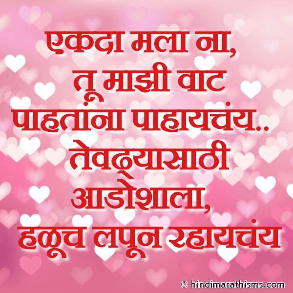 Tu Majhi Vaat Paahtana PREM CHAROLI MARATHI Image
