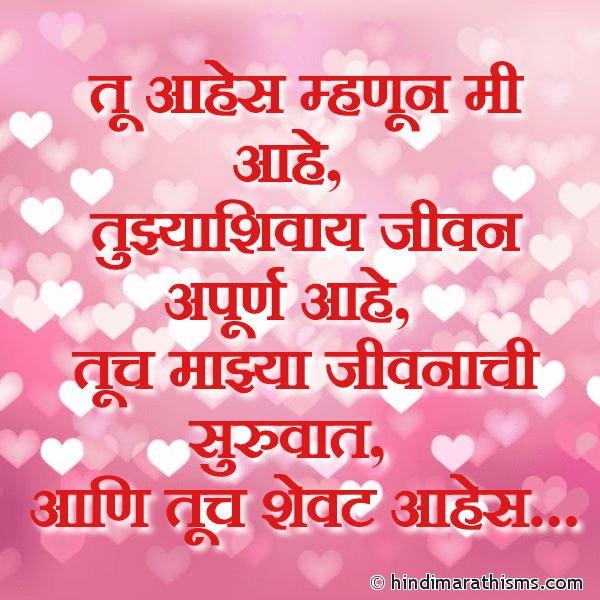 Tujhyashivay Jeevan Apurn Aahe PREM CHAROLI MARATHI Image